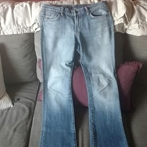 Citizens of humanity sz 28 stretch bootcut jeans